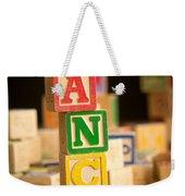 Lance - Alphabet Blocks Weekender Tote Bag