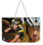 Lance Armstrong Artwork Weekender Tote Bag