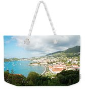 Land And Sea Weekender Tote Bag