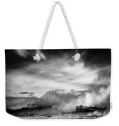 Land Of Fire Weekender Tote Bag