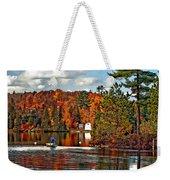 Land Of Lakes Weekender Tote Bag