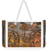 Land Of World 8624042 Framed Weekender Tote Bag