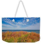 Land Sea Sky Weekender Tote Bag