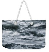 Land Shapes 32 Weekender Tote Bag by Priska Wettstein