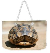 Land Turtle Hiding In Its Shell  Weekender Tote Bag