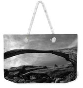 Landscape Arch Panoramic Weekender Tote Bag