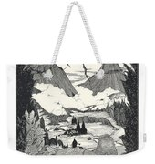 Landors Cottage Weekender Tote Bag