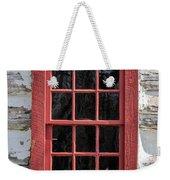 Landow Cabin Window Weekender Tote Bag