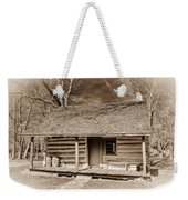 Landow Log Cabin 7d01723b Weekender Tote Bag