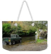 Landrover And The Ford  Weekender Tote Bag