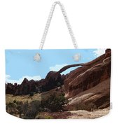 Landscape Arch In Arches National Park Weekender Tote Bag