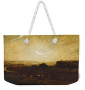 Landscape At Sunset Weekender Tote Bag by Marie Auguste Emile Rene Menard