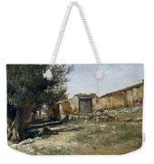 Landscape In Aragon Weekender Tote Bag