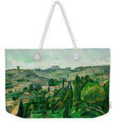 Landscape In The Ile-de-france Weekender Tote Bag