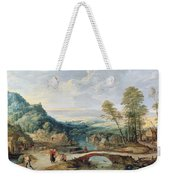 Landscape Weekender Tote Bag