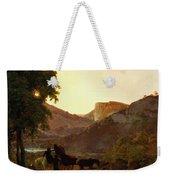 Landscape Weekender Tote Bag by Joseph Wright of Derby