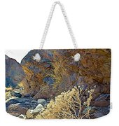 Landscape Of Big Painted Canyon Trail In Mecca Hills-ca Weekender Tote Bag