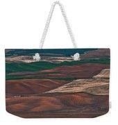 Landscape Of Rolling Farmland Steptoe Butte Washington Art Prints Weekender Tote Bag