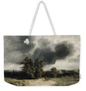 Landscape On The Outskirts Of Paris Weekender Tote Bag