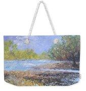 Landscape Whit River Weekender Tote Bag
