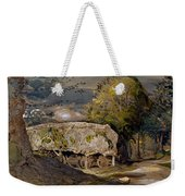 Landscape With A Barn, Shoreham, Kent Weekender Tote Bag