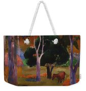 Landscape With A Pig And Horse Weekender Tote Bag
