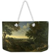Landscape With Abraham And Isaac Weekender Tote Bag
