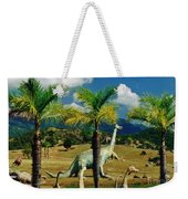 Landscape With Dinosaurs Weekender Tote Bag