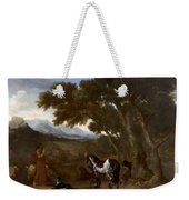 Landscape With Hermit Preaching To Animals Weekender Tote Bag