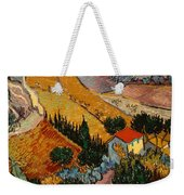 Landscape With House And Ploughman Weekender Tote Bag
