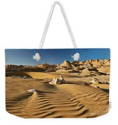 Landscape With Mountains In Egyptian Desert Weekender Tote Bag