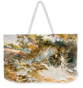 Landscape With Palmettos Weekender Tote Bag