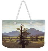 Landscape With Solitary Tree Weekender Tote Bag