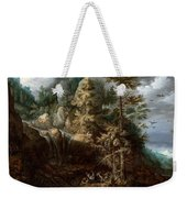 Landscape With The Temptation Of Saint Anthony Weekender Tote Bag