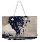 Landscape With Three Trees Weekender Tote Bag by Victor Hugo