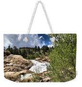 Alluvial Fan Colorado Weekender Tote Bag