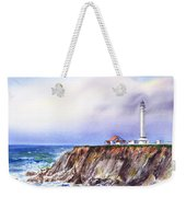 Lighthouse Point Arena California  Weekender Tote Bag
