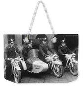 Landshut City Police Weekender Tote Bag