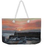 Lanes Cove Sunset Weekender Tote Bag