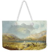 Langdale Pikes, From The English Lake Weekender Tote Bag