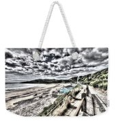 Langland Bay Painterly Weekender Tote Bag