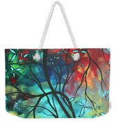 Languishing In The Breeze Original Art Madart Weekender Tote Bag