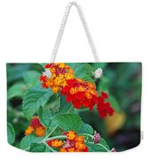 Lantana Delight Weekender Tote Bag