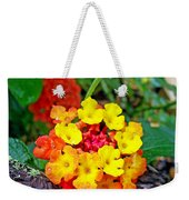 Lantana Flowers 2 Weekender Tote Bag