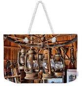 Lantern Chandelier Weekender Tote Bag