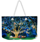 Lantern Tree Weekender Tote Bag