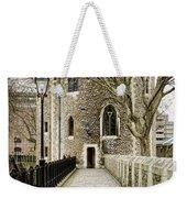 Lanthorn Tower Weekender Tote Bag by Heather Applegate