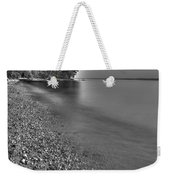 Lapping Waters On The Shore Weekender Tote Bag