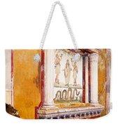 Lararium Of Family Altar, Seen In Situ Weekender Tote Bag