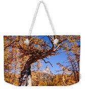 Larch Tree Frames Prusik Peak Weekender Tote Bag